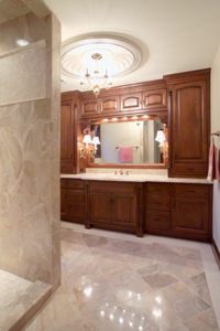 design bathroom countertops